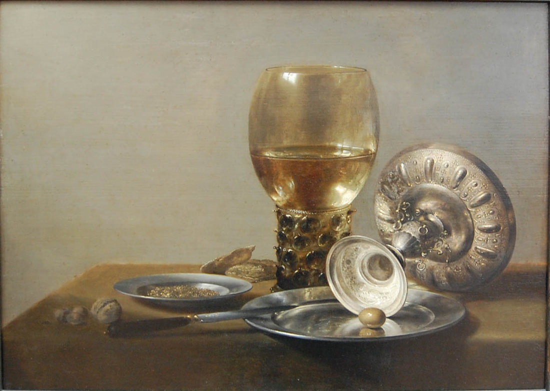 Pieter Claesz on Markus Walter's art blog