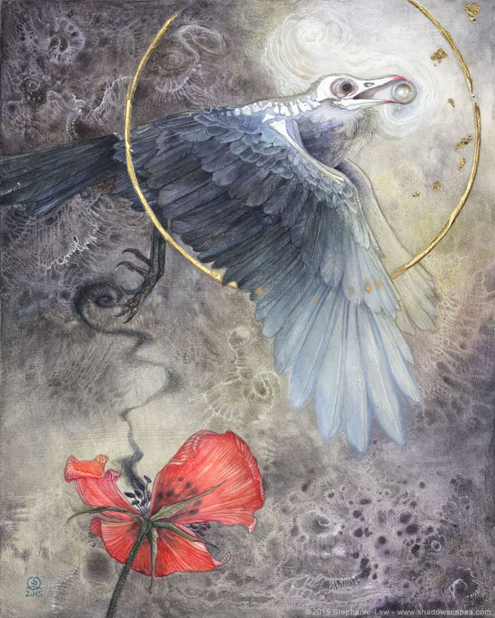 Stephanie Law on http://www.markuswalterart.com/blog