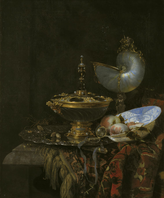 Willem Kalf on Markus Walter's art blog